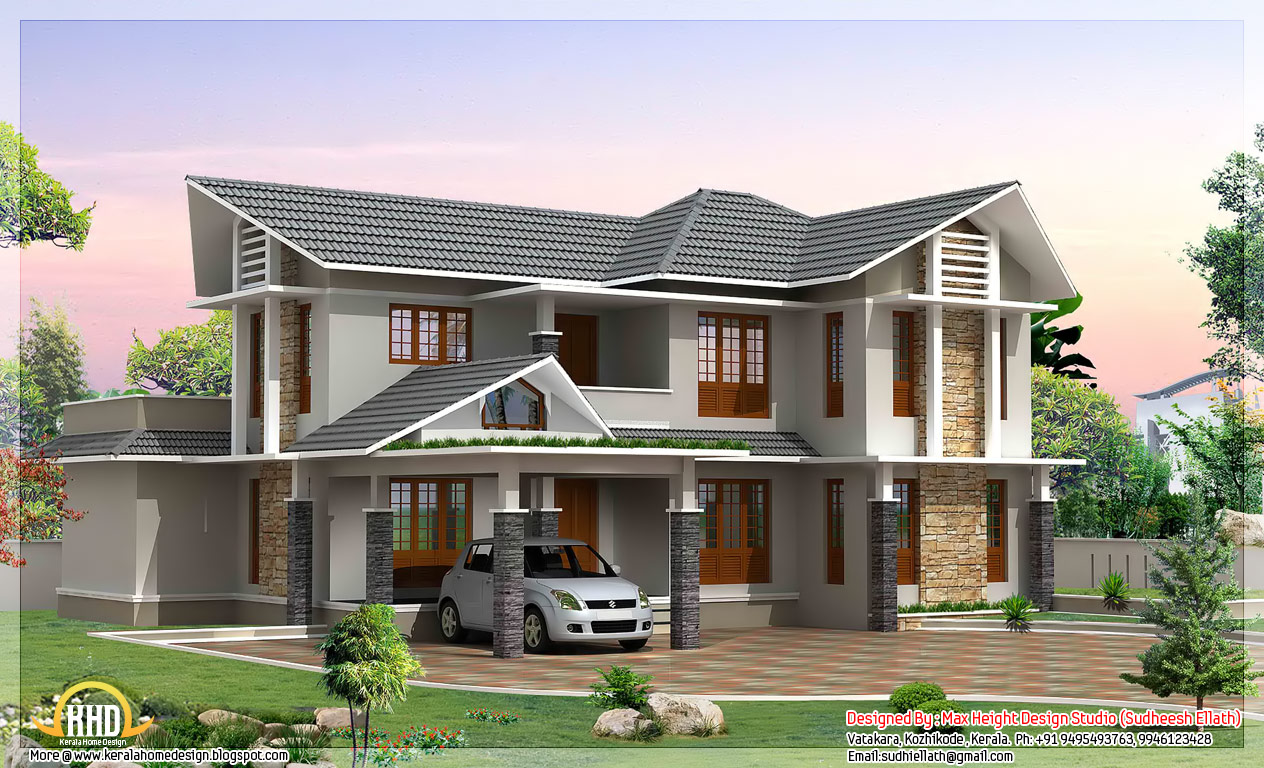 Double floor house for Home designs double floor